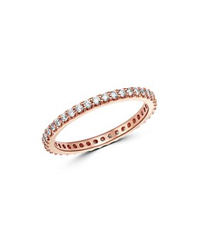 Bloomingdale's - Diamond Eternity Stacking Band in 14K Rose Gold, 0.50 ct. t.w. - 100% Exclusive
