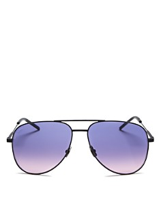 Saint Laurent - Unisex Aviator Sunglasses, 59mm