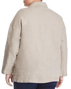 Eileen Fisher Plus - Organic Linen Blazer