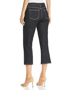 Elie Tahari - Gianina High Rise Cropped Flared Jeans in Indigo