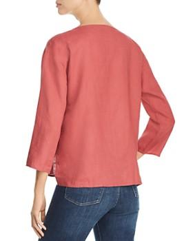 Eileen Fisher - Organic Linen High/Low Top