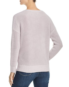 add3755661a ... Eileen Fisher - Organic Cotton Shaker-Knit Sweater