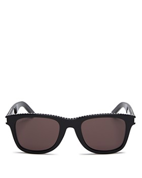 d421e86662ce9 Saint Laurent - Unisex Studded Rectangular Sunglasses