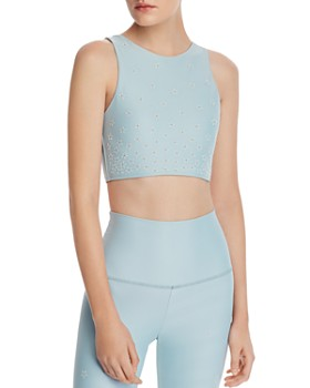 Beach Riot - Kendal Embellished Cropped Top