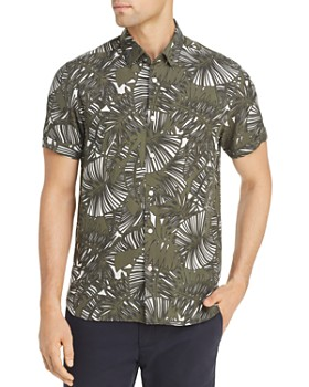 a3daff32352 Ted Baker - Hero Palm Print Slim Fit Shirt - 100% Exclusive ...