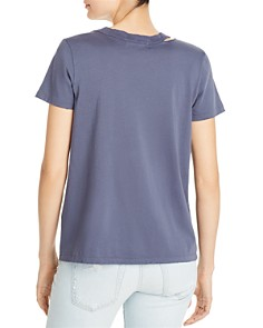 n:philanthropy - Zander Embroidered Cutout Tee