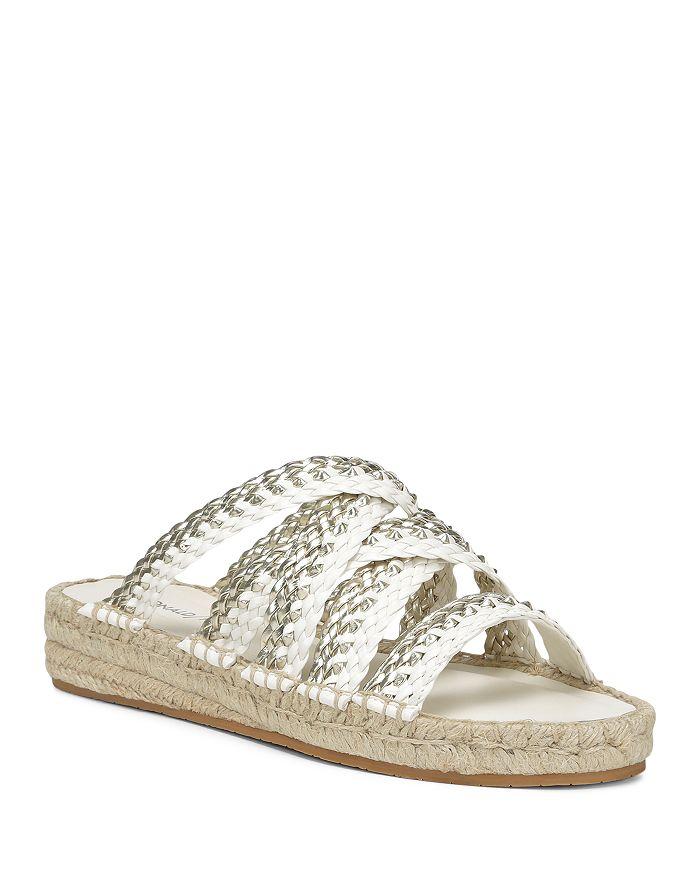 Donald Pliner - Women's Rhonda Metallic Woven Leather Sandals