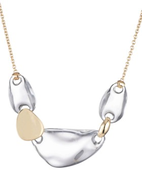 Alexis Bittar - Watery Lucite Link Necklace, 16""