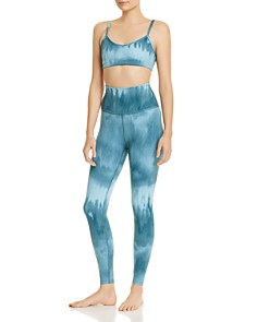 Beyond Yoga - Olympus High-Rise Tie-Dye Leggings