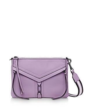 Botkier Trigger Zip Leather Crossbody-Handbags