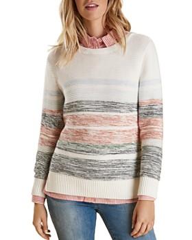 Barbour - Littlehampton Striped Knit Sweater