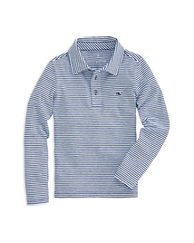 3cb088163ffb03 Vineyard Vines - Boys  Edgartown Long Sleeve Polo - Little Kid