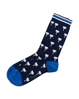 85873fc0a8c Ted Baker - Bistort Mini Palm Tree Socks ...