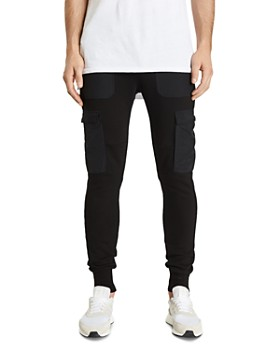 NXP - Selector Tech Mixed-Media Cargo Track Pants