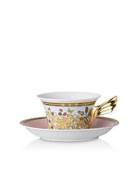 Versace - Versace Butterfly Garden Teacup & Saucer