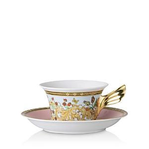 Rosenthal Versace Butterfly Garden Teacup & Saucer