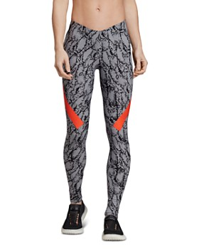 adidas by Stella McCartney - Alphaskin Snake Print Leggings ... 90cf4630aed
