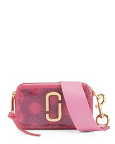 MARC JACOBS - Snapshot Jelly Glitter Crossbody