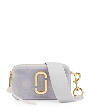 Marc Jacobs Snapshot Jelly Glitter Crossbody