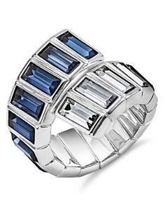 Atelier Swarovski - Core Collection Fluid Azzurro Wrap Ring