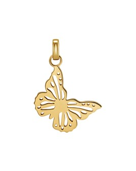 Michael Kors - Oversized Butterfly Charm in 14K Gold-Plated Sterling Silver