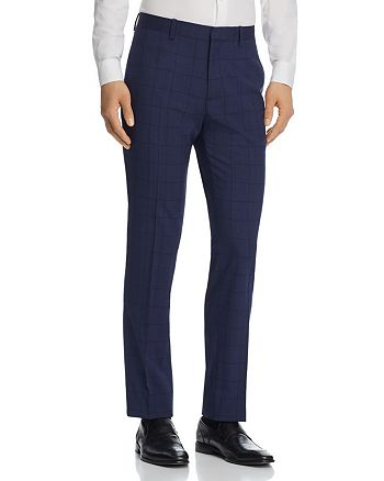 Theory - Mayer Windowpane Slim Fit Suit Pants - 100% Exclusive