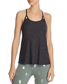 Beyond Yoga - Split Strappy Racerback Tank