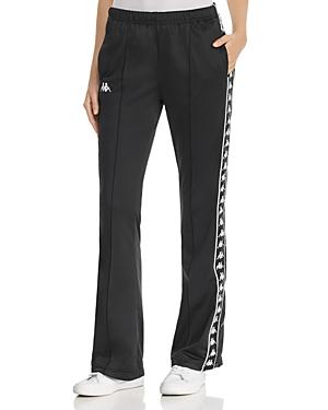 Kappa Banda Wastoria Pintuck Side-Snap Track Pants