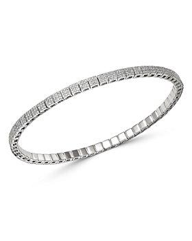 Meira T - 14K White Gold Diamond Stretch Bracelet