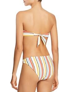 MINKPINK - MINKPINK Paradise Tie Back Bandeau Bikini Top & Paradise Full Bikini Bottom