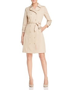 Elie Tahari - Ari Trench Coat Dress