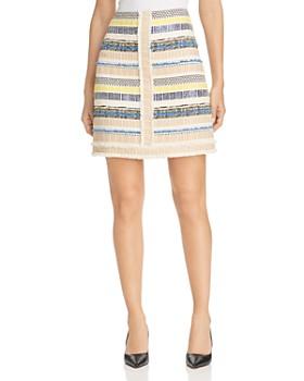 Elie Tahari - Julietta Tweed Skirt
