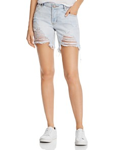 One Teaspoon - Bandits Denim Shorts in Original Blue