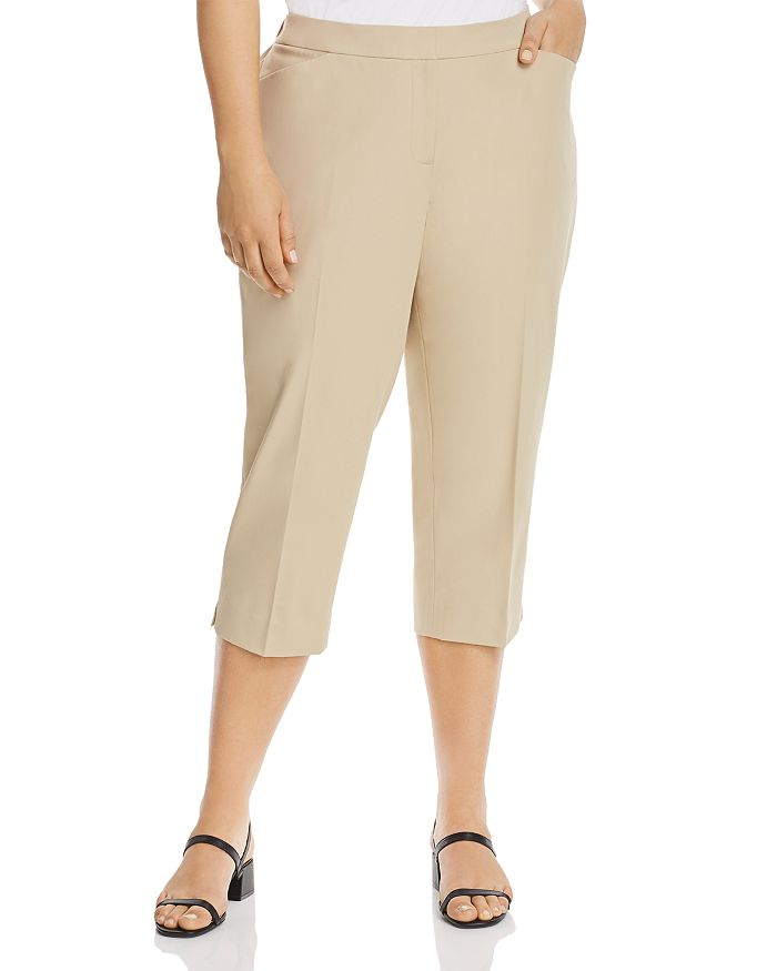 Lafayette 148 New York Plus - Manhattan Cropped Pants