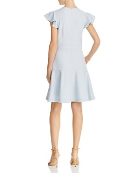 Shoshanna - Textured Crepe Dress