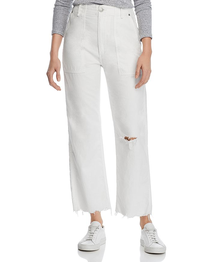 clients first latest selection of 2019 best online Kaye High-Rise Wide-Leg Chino Pants