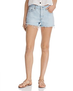 Levi's - 501 Cutoff Denim Shorts in Vintage Authentic