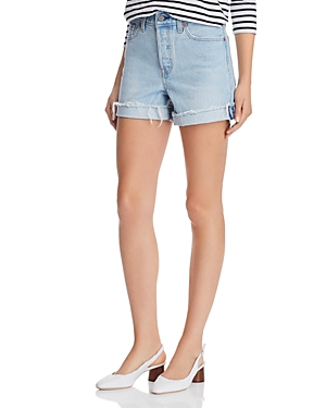Levi's Shorts WEDGIE UPDATE DENIM SHORTS IN AWESOME STREET