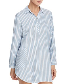 UGG® - Gabri Striped Twill Sleepshirt