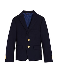 Michael Kors - Boys' Dress Gold-Button Sport Coat, Little Kid - 100% Exclusive