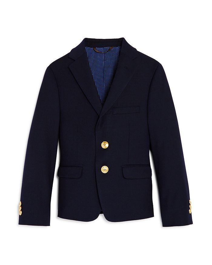 Michael Kors - Boys' Dress Gold-Button Sport Coat, Little Kid - 100% Exclusive