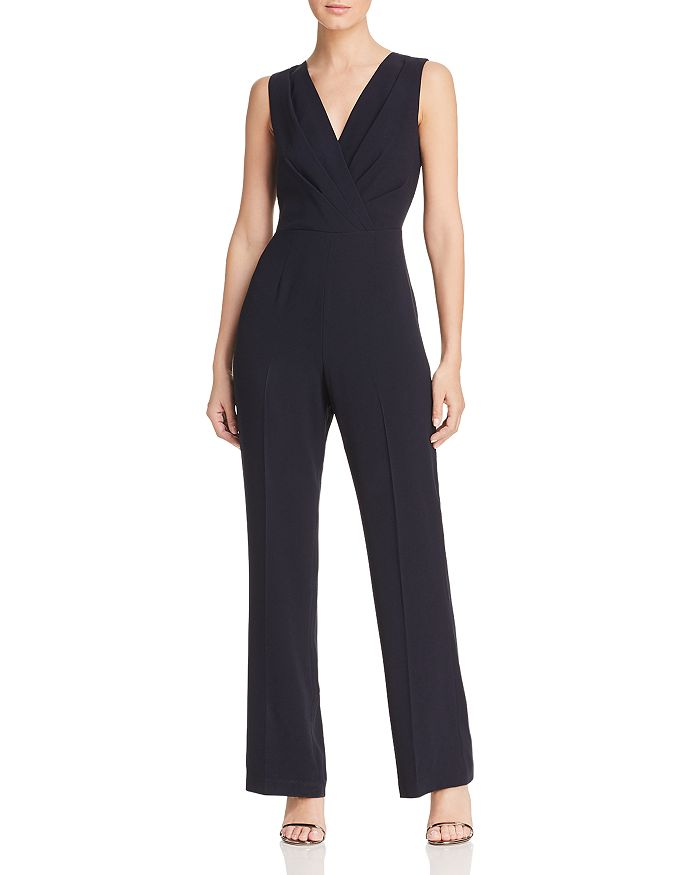 Elie Tahari - Adaline Sleeveless V-Neck Jumpsuit