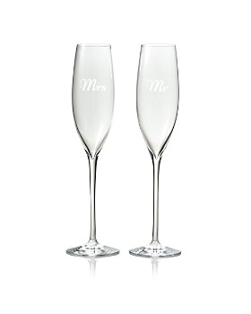 Waterford - Mr. & Mrs. Elegance Flutes, Set of 2 - 100% Exclusive