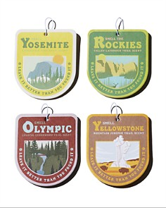 Parks Project - Smell-The-Parks Air Freshener, Pack of 4