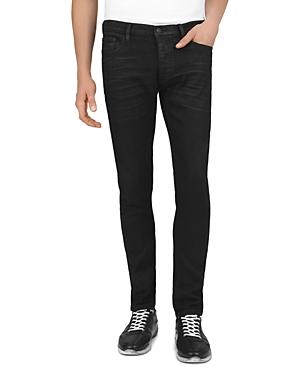 The Kooples Straight Slim Fit Jeans in Black