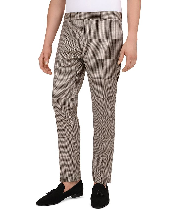 The Kooples - Houndstooth Slim Fit Trousers