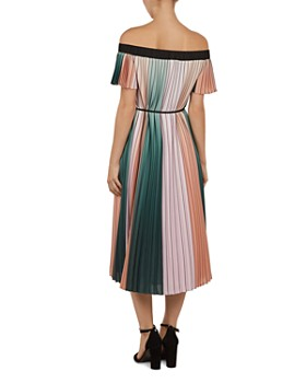 027b5c7b731713 ... Ted Baker - Fernee Pleated Color-Block Dress