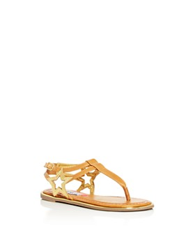 5684f5a53c15 STEVE MADDEN - Girls  JStardust T-Strap Sandals - Little Kid