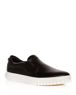 Salvatore Ferragamo Men's Cruise Slip-On Sneakers