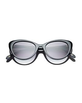 Dick Moby - Women's Montepellier Cat Eye Sunglasses, 48mm